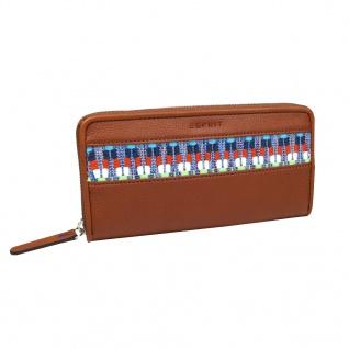 Esprit Geldbörse Tate Casual Zip Braun Damen Börse 067EA1V003-E220 - Vorschau 1