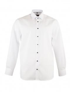 Eterna Herren Hemd Langarm Comfort Fit XL/44 Weiß 1303/00/E18E