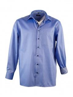 Eterna Herren Hemd Langarm Comfort Fit XXXL/47 Blau 8463/16/E95K - Vorschau 2