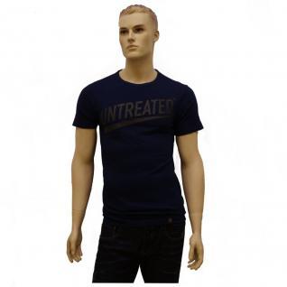 G-Star Herren T-Shirt 843125865-857 Deffure 1 Regular T-Shirt Blau M