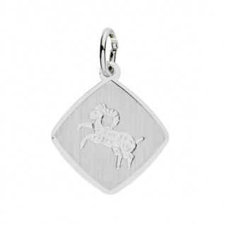 Basic Silber 24.9018SWI Damen Anhänger Sternzeichen Widder Silber