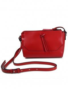 Esprit Damen Handtasche Tasche Schultertasche Camino S Rot