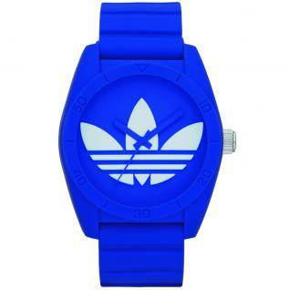 Adidas ADH6169 SANTIAGO Uhr Herrenuhr Kautschuk blau