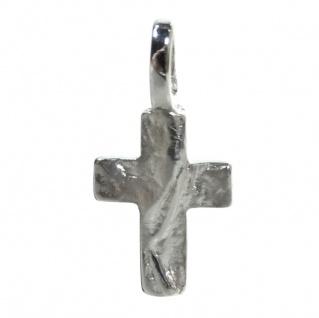 Basic Silber SKE56 Kinder Anhänger Kreuz Silber