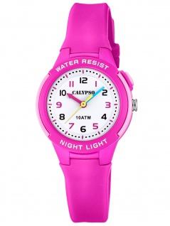 Calypso K6069/1 Uhr Mädchen Kinderuhr Kunststoff pink