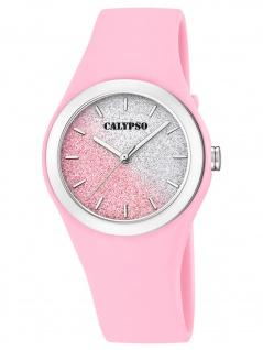 Calypso K5754/3 Uhr Damenuhr Kunststoff rosa