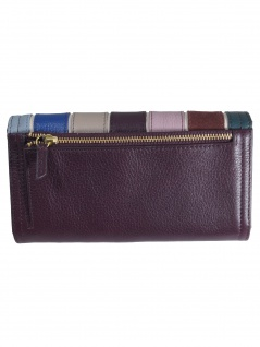 Fossil Damen Geldbörse RFID LOGAN Flap Leder Mehrfarbig SL7847-564 - Vorschau 3
