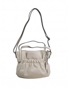 Esprit Damen Handtasche Tasche Schultertasche Darcy city bag Beige