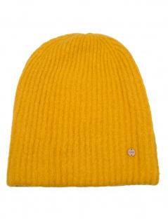Esprit Damen Mütze Beanie Soft Knit Beanie OneSize Gelb 119EA1P001-710
