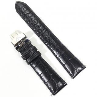Emporio Armani Uhrband LB-AR0467 Original AR 0467 Lederband 20 mm
