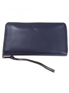 Esprit Damen Geldbörse Portemonnaies Honey Zip Blau 118EA1V029-400