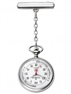 Dugena 4149882-1 Schwesternuhr Uhr Damenuhr weiss