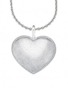 s.Oliver 560764 Damen Collier Herz Sterling-Silber 925 Silber 46 cm