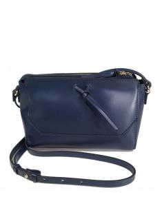 Esprit Damen Handtasche Tasche Schultertasche Camino S Blau