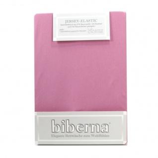 Biberna 77866-332 Jersey Elastic Spannbetttuch Lila 90x190 100x220