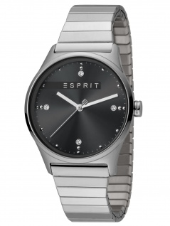 Esprit ES1L032E0105 VinRose Black Silver Matt Damenuhr Edelstahl