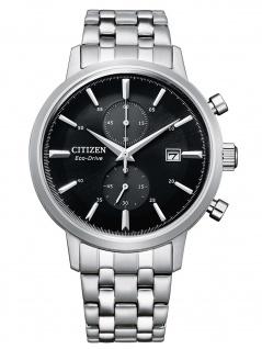 Citizen CA7060-88E Eco Drive Chronograph Uhr Herrenuhr Datum silber