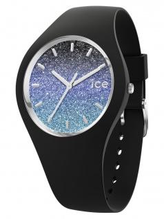 Ice-Watch 015606 Ice-Lo Milky Way Uhr Damenuhr Kautschuk Schwarz