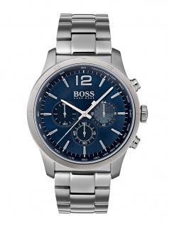 Hugo Boss 1513527 THEPR Uhr Herrenuhr Edelstahl Silber