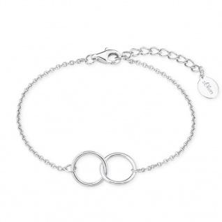 s.Oliver 2017138 Damen Armband Sterling-Silber 925 Silber 19 cm