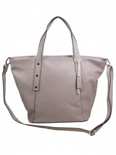 Esprit Damen Handtasche Tasche Henkeltasche Fiona city bag Grau