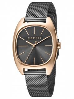 Esprit ES1L038M0125 Infinity Grey Rosegold Mesh-L Damenuhr Edelstahl