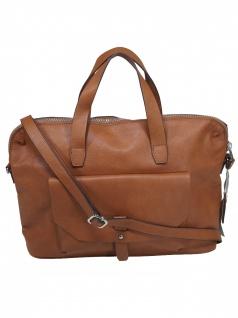Esprit Damen Handtasche Tasche Henkeltasche Isa working Bag Braun