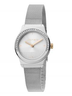 Esprit ES1L091M0045 Magnolia Mini Stones Uhr Damenuhr Edelstahl Silber