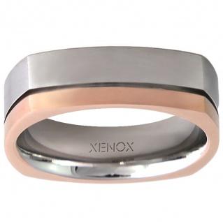 XENOX X2244-64 Herren Ring XENOX & friends Bicolor Rose 64 (20.4)