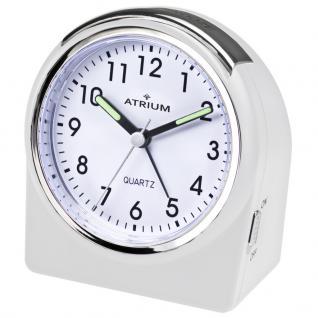 ATRIUM A520-0 Wecker Alarm Analog weiß