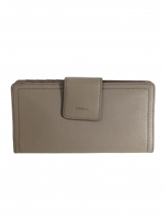 5733320e6eeb9d Fossil Damen Geldbörse Portemonnaies RFID Logan Tab Grau SL7830-263