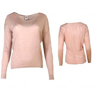 Vero Moda Damen Pullover Pulli BEATRICE LS Blouse Rosa Gr. XL