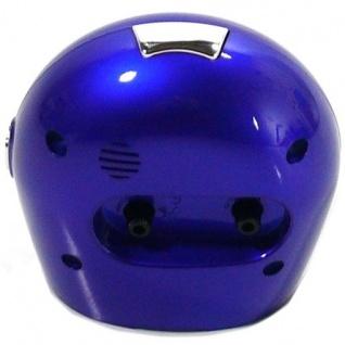 W&S 22318-08 Wecker Uhr blau-weiß Analog Licht Alarm - Vorschau 2