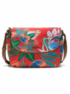 Desigual Damen Handtasche Tasche Schultertasche LIANA BREDA MAXI Rot