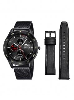 Lotus 50010/1 Smartime Smart Watches Uhr Herrenuhr Datum Schwarz