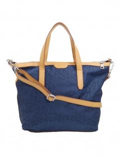 Esprit Damen Handtasche Tasche Henkeltasche Anne City Bag Blau