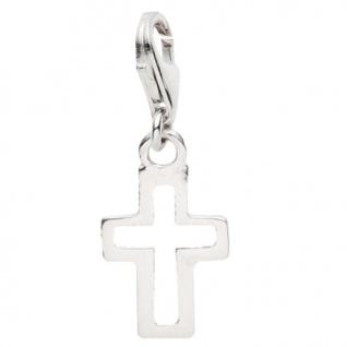 Basic Silber 22.VX133 Damen Charms Kreuz Silber
