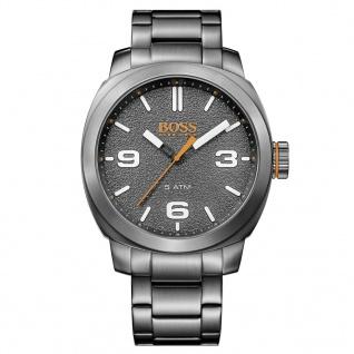 Boss Orange Uhr Herrenuhr Edelstahl Grau 1513420