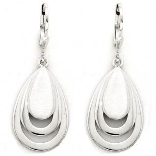 Basic Silber 02.1137 Damen Ohrringe Silber