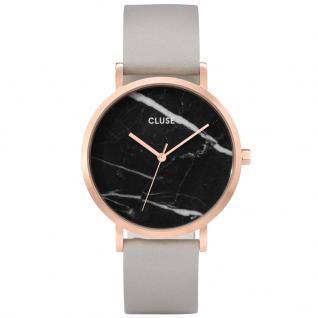 CLUSE CL40006 La Roche Gold Black Marble/Grey Uhr Damenuhr Grau