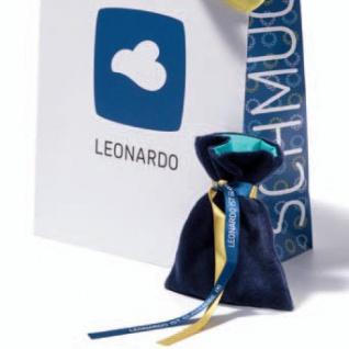 Leonardo Damen Charms Herz Aurora Darlin's Edelstahl weiß bicolor - Vorschau 4