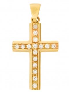 Gerry Eder 27.0001 Anhänger Kreuz 14 Karat (585) Gelbgold Gold