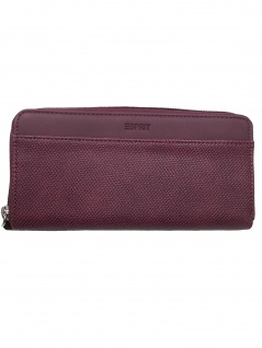 Esprit Damen Geldbörse Portemonnaies Vivien Zip Rot 089EA1V004-600