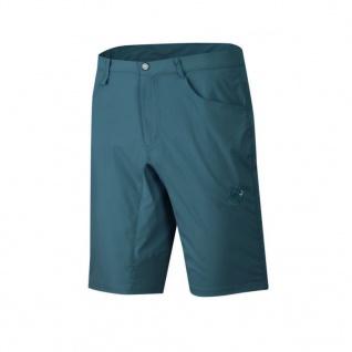 Mammut Damen Outdoor Hose Hiking Shorts Women Blau Kurz Funktions 36