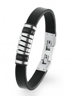 s.Oliver 2020897 Herren Armband Edelstahl Silber 21, 5 cm