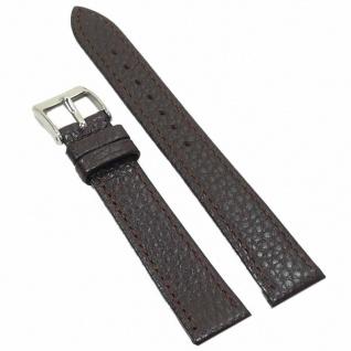 Condor Uhrenband 14724-18-20 Ersatzarmband 18 mm braun dunkelbraun