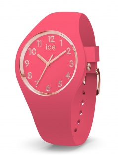 Ice-Watch 015331 ICE glam colour Raspberry small 3H Uhr Damenuhr Pink