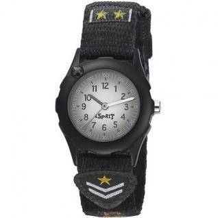 Esprit ES105224001 future pilot black Uhr Kinderuhr Stoffband schwarz