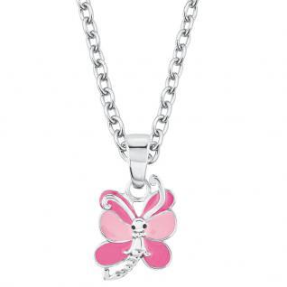Prinzessin Lillifee 2017956 Mädchen Collier Schmetterling Silber Rosa