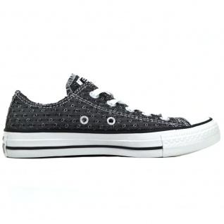 Converse Damen Schuhe CT Ox Grau-Schwarz Sneakers Größe 36, 5